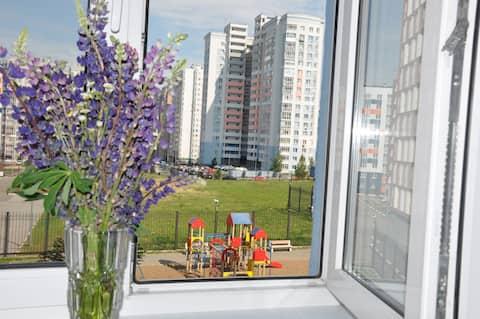 ВСЁ РЯДОМ   -    на Родионова (2-комнаты)
