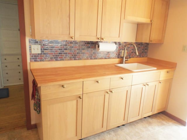 We renovated the kitchen in 2018.