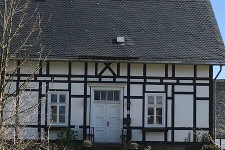 Gemütliche Ferien: Alte Försterei in Bruchhausen