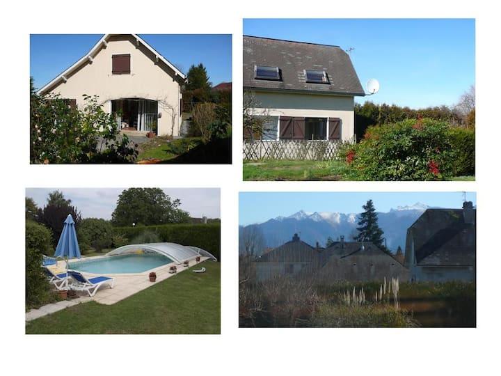 Maison 3 * avec  jardin et piscine