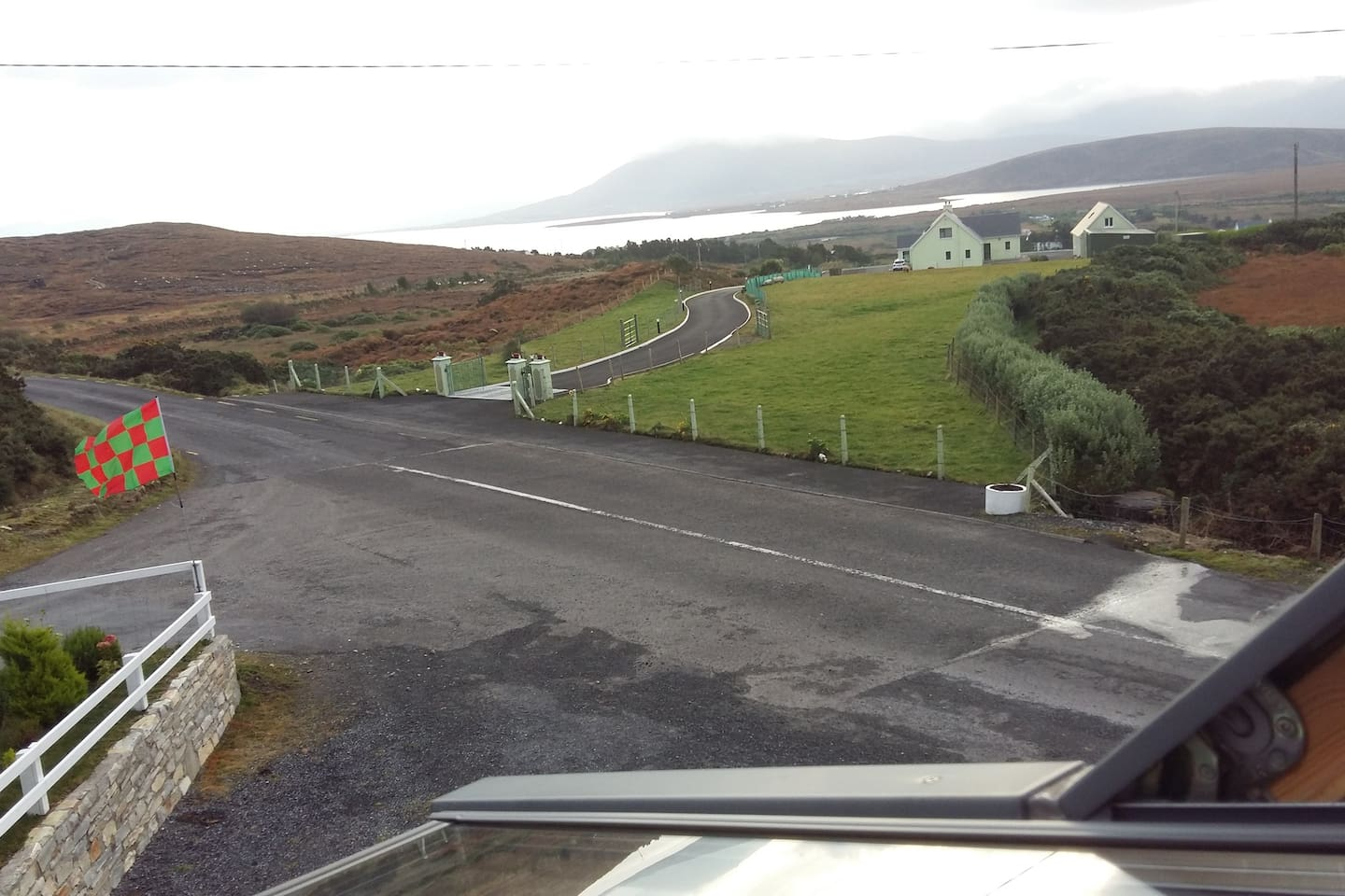 The Views from the Loft at Achill Lodge
