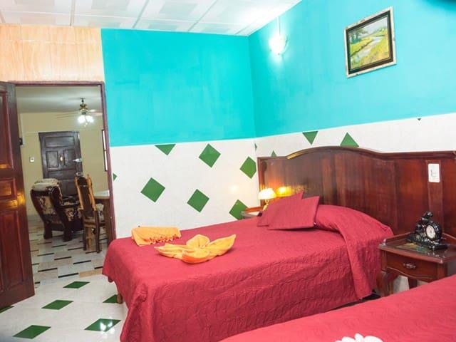Camaguey - Puchy's House - Room2 - Camagüey - Apartemen