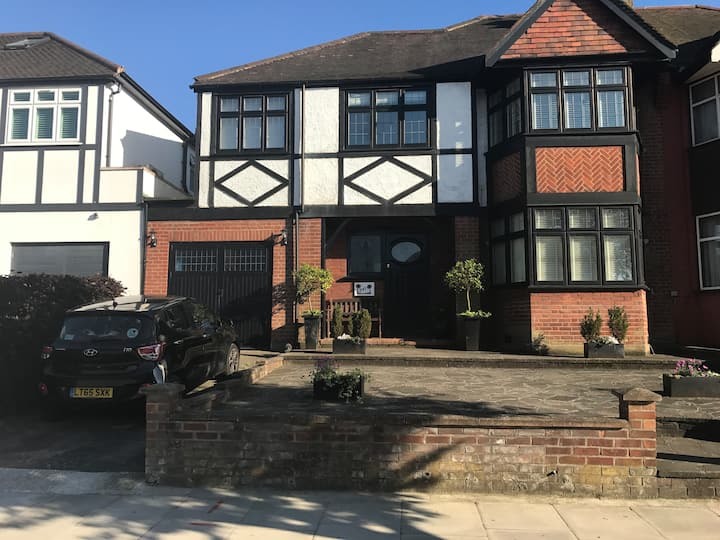 Single room in family home in lovely area