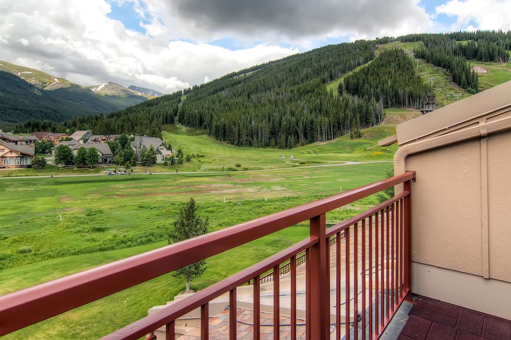 View from the Patio, of the Mountain