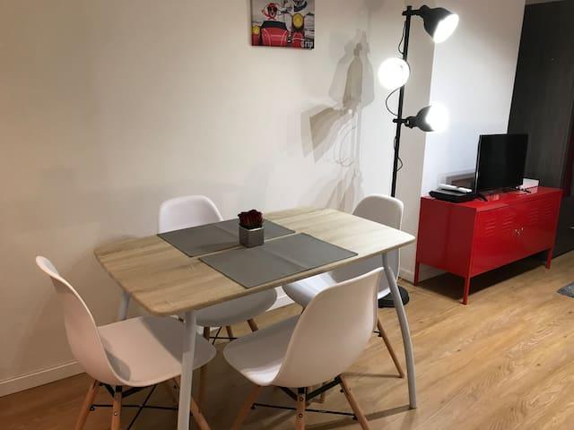 Beau studio Nogent
