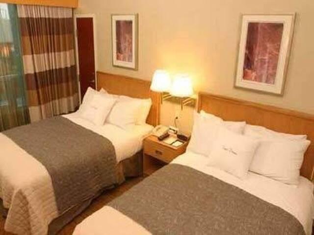 Recámara de Hotel para 20 y 21 de marzo en centro
