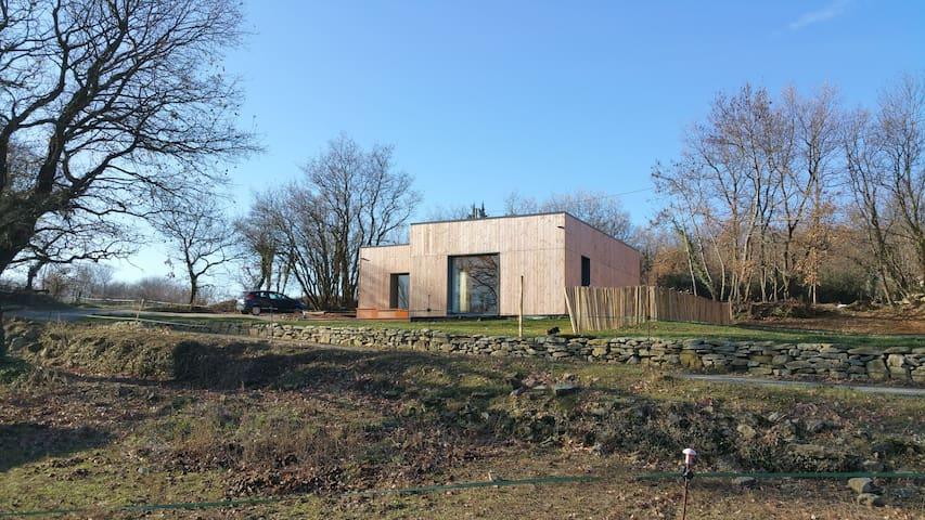 Bois de Garance, gîte d'architecte bioclimatique - Soyans - Hus