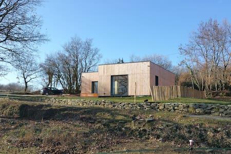 Bois de Garance, gîte d'architecte bioclimatique - Soyans