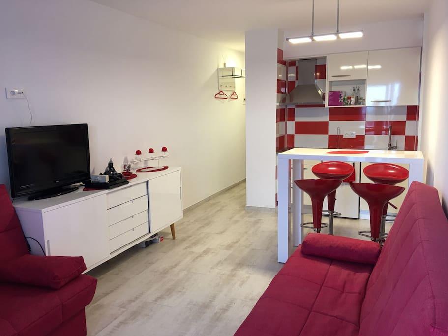 Salon-comedor/salle a manger/ Living room