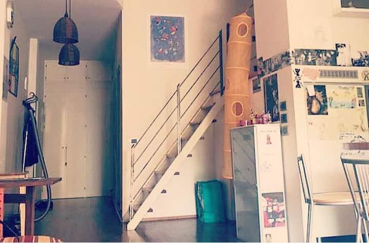 Cozy Loft-House   Bologna - Pratello