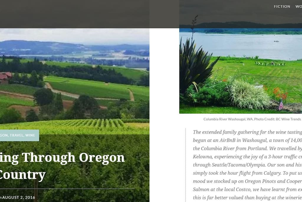 Featured in BC Wine Press Blog
