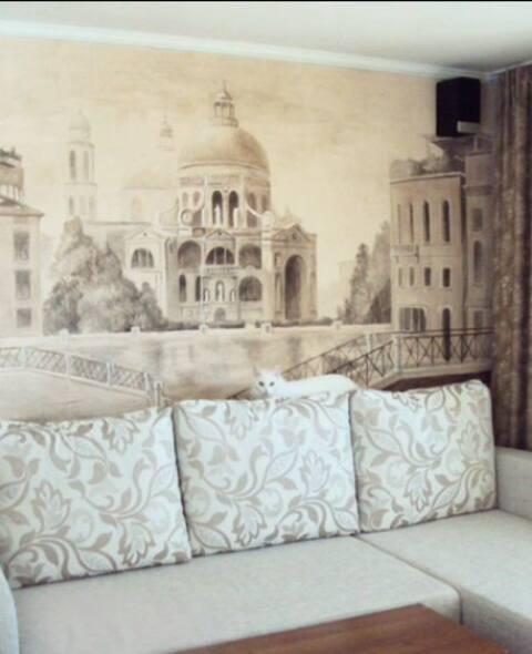 Уютная студия с панорамным видом