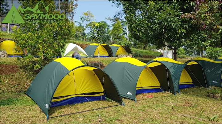 Saymooo Ranch Camping Ground - Dome Tent