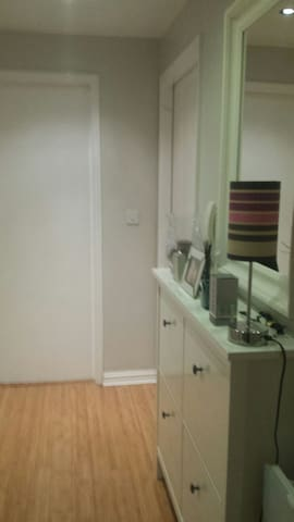 Modern apt lge double with private parking