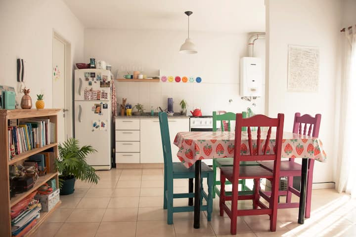 The Warmest apartament in the heart of Nuñez.