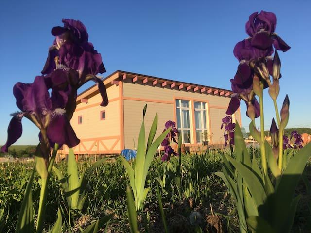 Дом с русской баней в Дворяниново