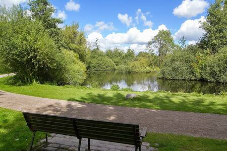 Room with private bathroom by the lake and park! - Copenhaguen - Casa