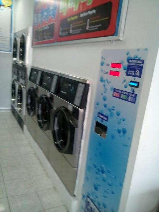 24/7 self-service laundry is now available downstairs!