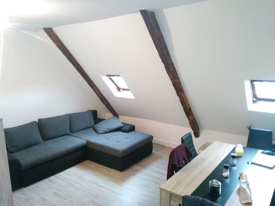 La canapé, cosy et moderne