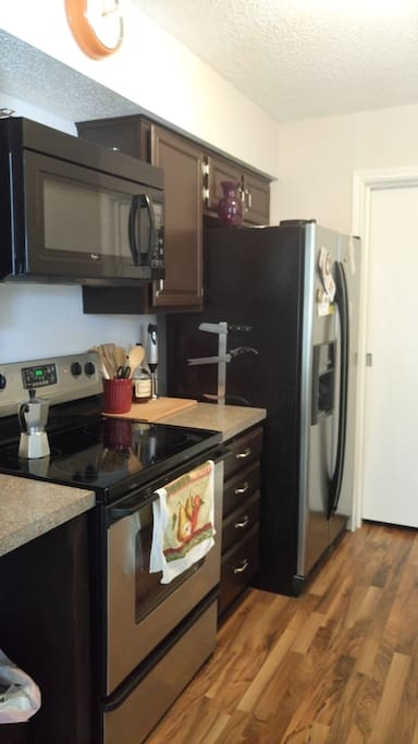 Kitchen Fridge space Available for Extended Stay Guests
