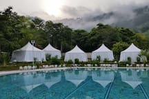 Benum Nature Retreat- Poolside Tents