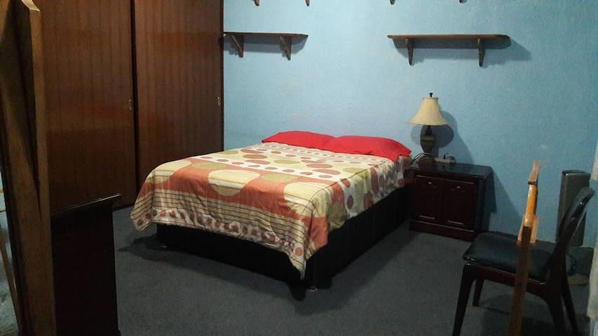 EVERGREEN HAB3 en Huamantla, Tlax! 1 cama doble
