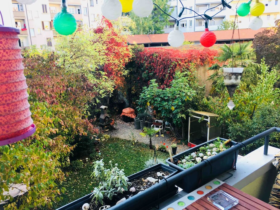 View from the balkony - little paradise place