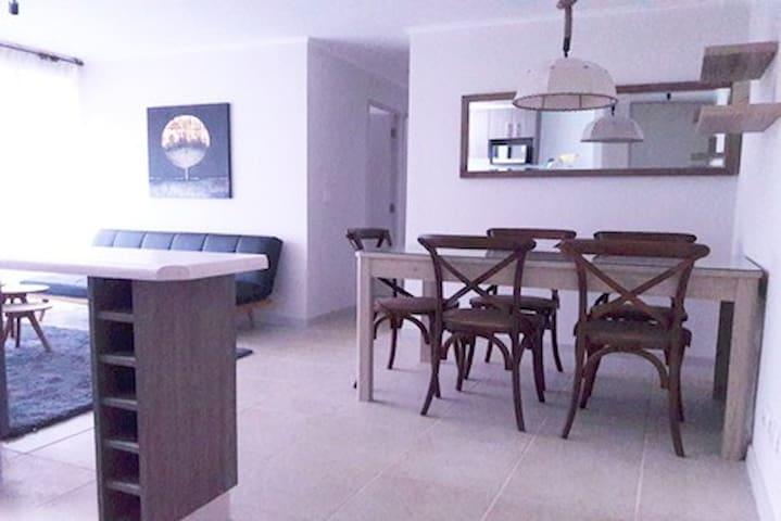 Departamento, WIFI+TV, Amoblado 3D~2B, La Serena