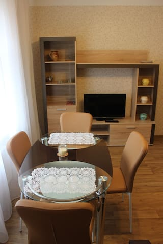 Charming Apartment with Free parking and Transfer