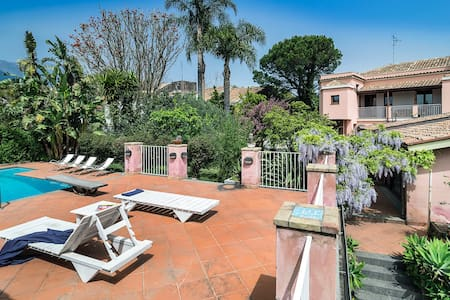 Villa with private pool and garden! - Santa Venerina - Villa