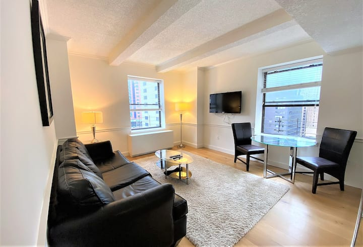 Central Park View-Luxury SUNNY Large 1-2 Bedroom