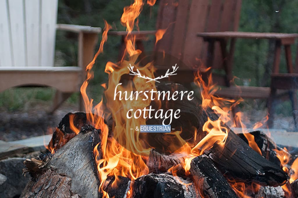 Sit outside with our large brazier and roast marshmallows, all wood supplied