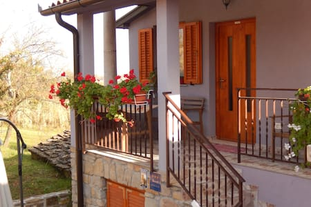 Apartments Sveti Leonard / One bedroom A2 - Oprtalj
