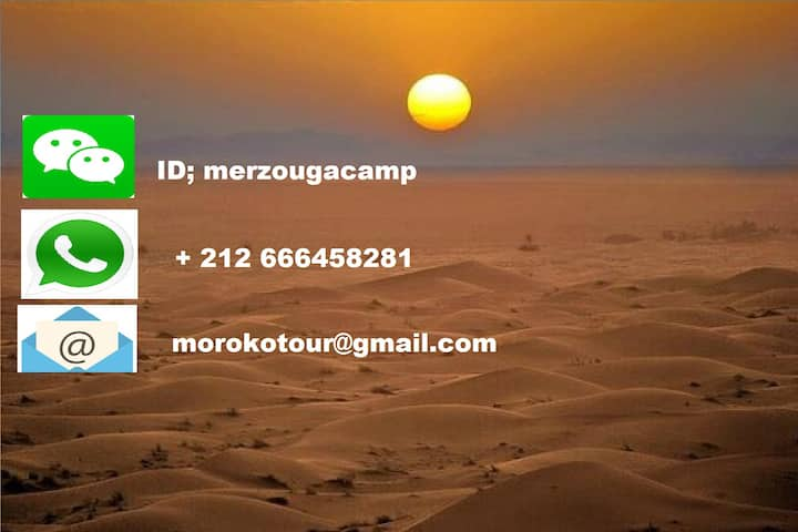 merzouga activities camp
