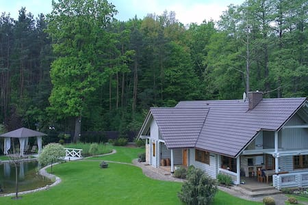 A country chalet for rent. - Michałów-Grabina - Ξενώνας