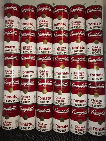 Andy Warhol was here.