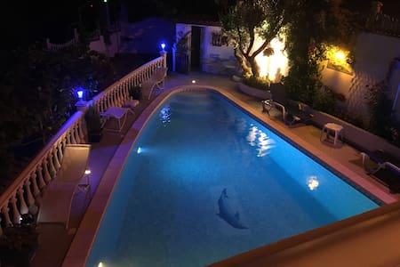 Vivenda soares avec piscine 1km du sanctuaire