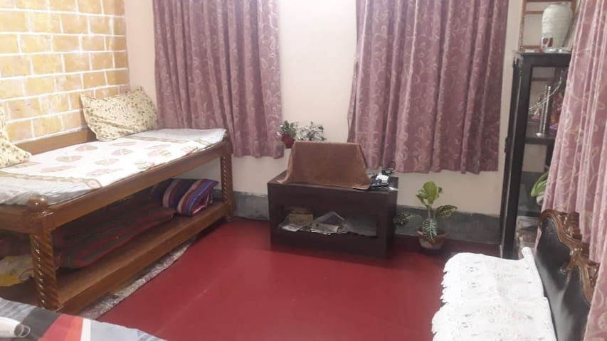 Vedic Hangout || Two Single Beds
