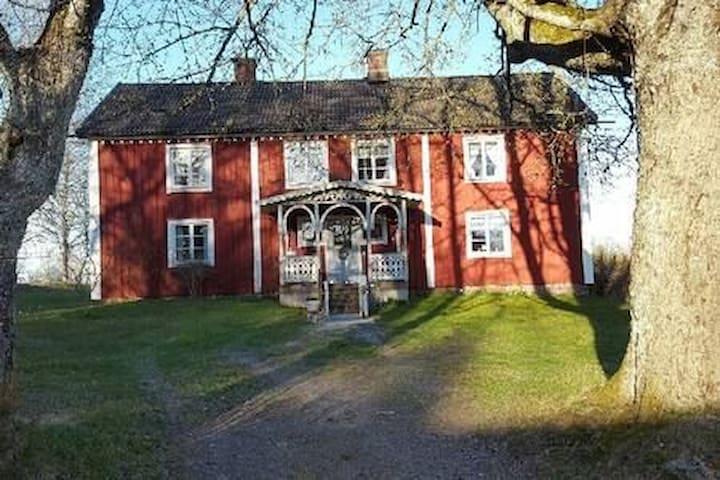 Grand, traditional house outside of Växjö