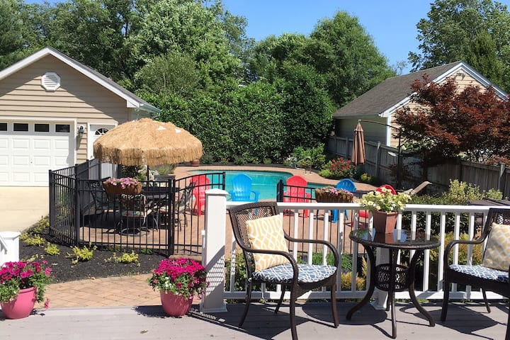 SHORT WALK TO STADIUM!  Annapolis Home with Pool!