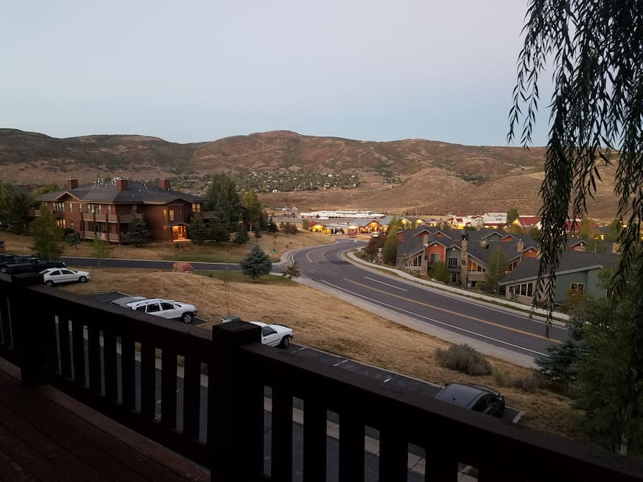 Balcony view (September)
