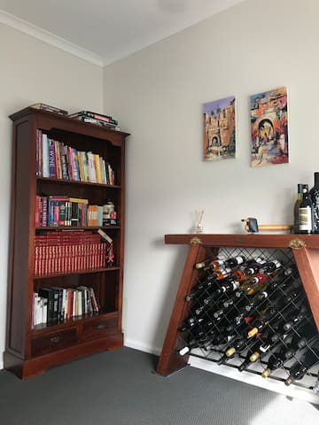 Spare room, games and books.