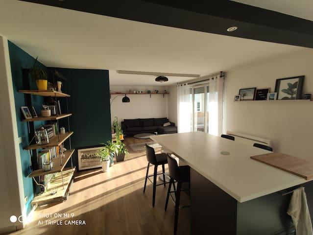 Pratique et confortable pour un séjour Lyonnais  !