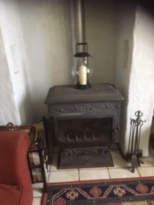 Lovely wood burner