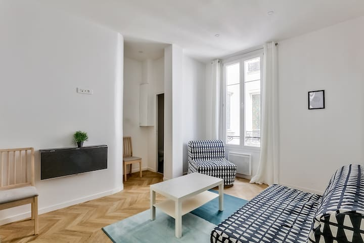 Wonderful Flat For 5 In The Parisian City Center