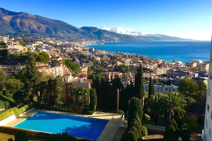 Roquebrune Cap Martin - Monaco - 3 chambres - luxe - Roquebrune-Cap-Martin