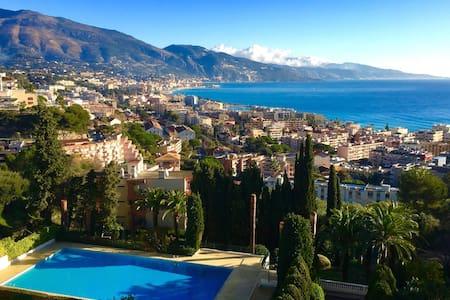 Roquebrune Cap Martin - Monaco - 3 chambres - luxe - Roquebrune-Cap-Martin - Apartamento