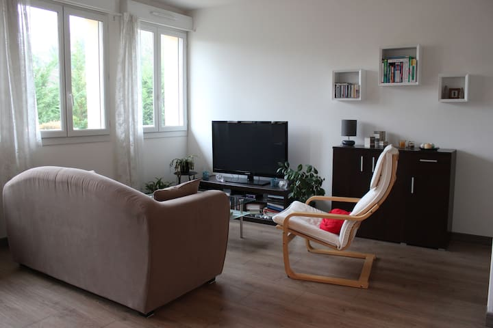 Bright apartment F2 in Pontoise - Pontoise - Apartment
