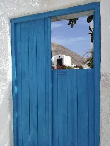 White-blue studio I