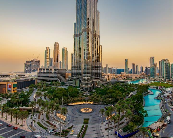 FIRST CLASS | 3BR | Full Burj Khalifa view